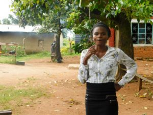 The Water Project:  Teacher In Charge Of Sanitation And Hygiene
