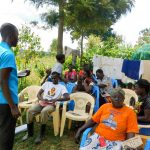 The Water Project: Ulagai Community, Rose Obare Spring -  Training