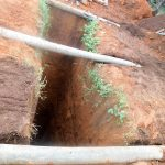 The Water Project: Erusui Secondary School -  Pit Dug For The Latrines