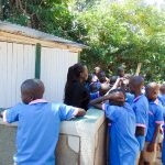 The Water Project: Eshiamboko Primary School -  Training About The Latrines