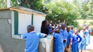 The Water Project:  Training About The Latrines