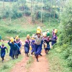 The Water Project: Bumuyange Primary School -  Walking Back To The School