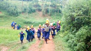 The Water Project:  Walking Back To The School