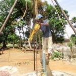 The Water Project: Modia Community, 4 Father Road -  Drilling