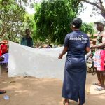 The Water Project: Kitonki Community A -  Bed Net Training