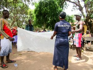 The Water Project:  Bed Net Training