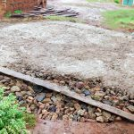 The Water Project: Mwanzo Primary School -  Tank Foundation