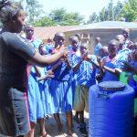 The Water Project: Eshiamboko Primary School -  Handwashing Training