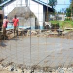 The Water Project: Essaba Secondary School -  Tank Foundation