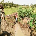 The Water Project: Musango Community A -  Digging Drainage