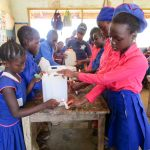 The Water Project: St. John RC Primary School -  Tippy Tap Construction Training