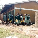 The Water Project: Shitaho Primary School -  Collecting Water For Construction