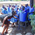 The Water Project: Eshiamboko Primary School -  Handwashing