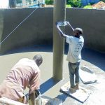 The Water Project: Essaba Secondary School -  Tank Construction