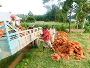 The Water Project:  Brick Delivery