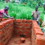 The Water Project: Mwanzo Primary School -  Latrine Construction