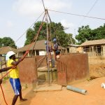 The Water Project: Kasongha Community, Maternal Child Health Post -  Drilling