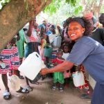 The Water Project: Kitonki Community A -  Handwashing Training