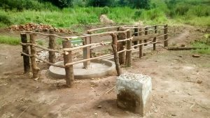 The Water Project:  Water Well After Being Fenced