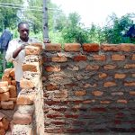 The Water Project: Eshiamboko Primary School -  Latrine Construction