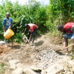 The Water Project: Ulagai Community -  Excavation And Foundation Construction Materials