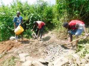 The Water Project:  Excavation And Foundation Construction Materials