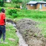 The Water Project: Ulagai Community, Rose Obare Spring -  Spring Excavation And Drainage