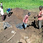 The Water Project: Emulakha Community, Alukoye Spring -  Excavation