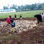 The Water Project: Shitaho Primary School -  Tank Foundation Construction