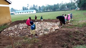The Water Project:  Tank Foundation Construction