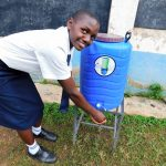 The Water Project: Essaba Secondary School -  Handwashing Station