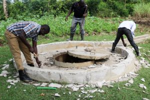 The Water Project:  Deconstructing Well Pad