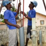 The Water Project: Targrin Community -  Drilling