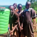 The Water Project: Mwanzo Primary School -  Handwashing Station