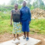 The Water Project: Ulagai Community, Aduda Spring -  Sanitation Platform