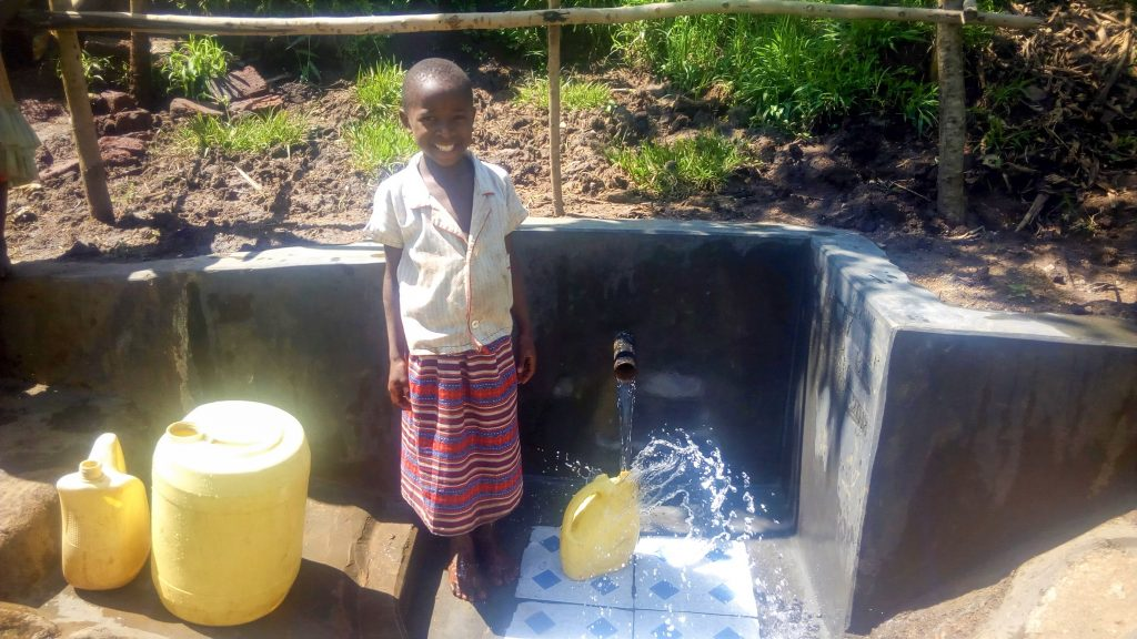 The Water Project : 19-kenya18018-spring-protection