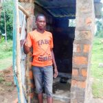 The Water Project: Ulagai Community -  Sanitation Platform In Latrine