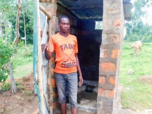 The Water Project:  Sanitation Platform In Latrine