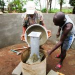 The Water Project: Tulun Community, 10 Tulon Road -  Building The Well Pad
