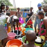 The Water Project: Kasongha Community, Maternal Child Health Post -  Flushing