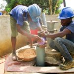 The Water Project: Royema MCA School and Community -  Drilling