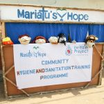 The Water Project: Kasongha Community, Maternal Child Health Post -  Hygiene Puppet Show
