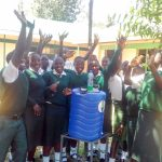 The Water Project: Mulwakhi Secondary School -  Handwashing Station