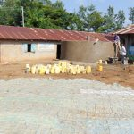 The Water Project: Eshiamboko Primary School -  Tank Construction