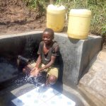 The Water Project: Mwituwa Community, Nanjira Spring -  Clean Water