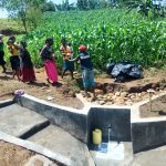 The Water Project: Emulakha Community, Alukoye Spring -  Backfilling