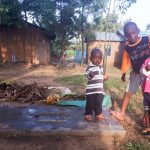 The Water Project: Matsakha C Community -  Sanitation Platform