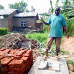 The Water Project: Muraka Community A -  Sanitation Platform