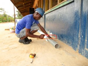 The Water Project:  Slotting Screen