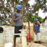 The Water Project: Targrin Community -  Flushing
